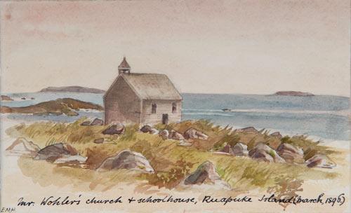 Lutheran church, Ruapuke Island