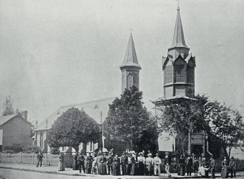 New Zealand Lutherans: German Church, Christchurch