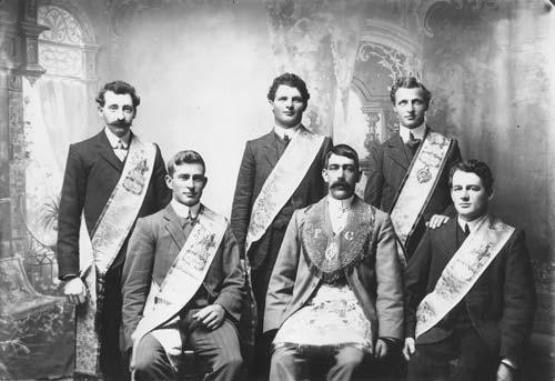 Kaponga Manchester Unity lodge, 1910