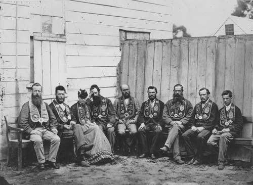 Good Templars, around 1873