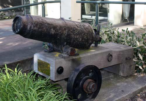 Puhuriwhenua cannon