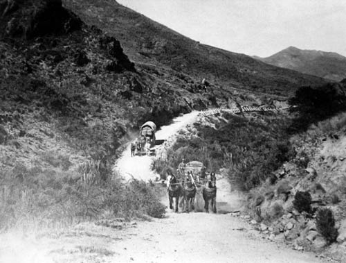 Taylor Pass road, 1920s