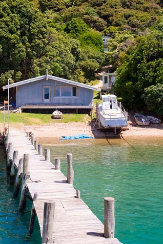 'Boat access only' in Pelorus Sound