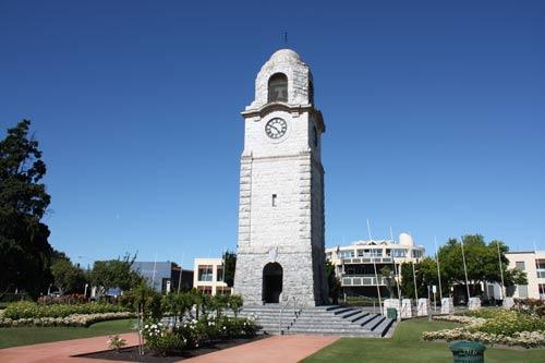 War memorial clock tower, Blenheim