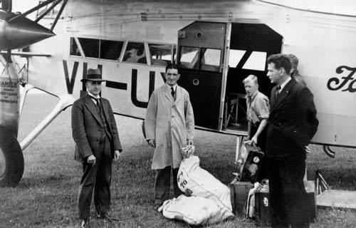 Airmail, 1933
