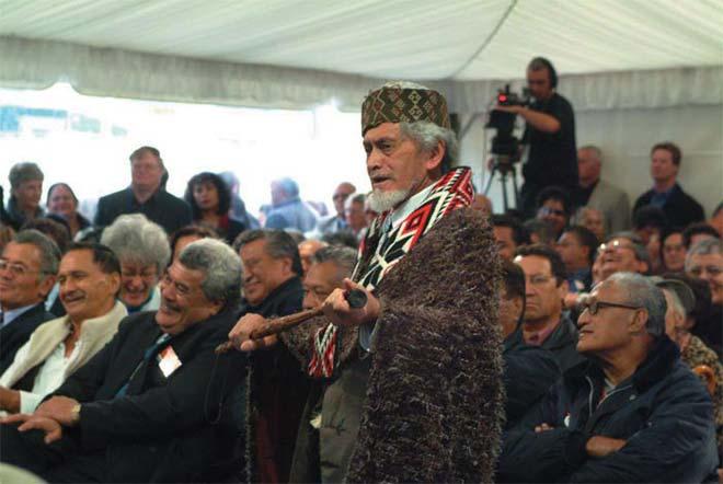 Māori-language campaigner Huirangi Waikerepuru