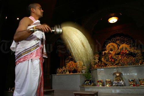 Hare Krishna temple, Auckland, 2006.