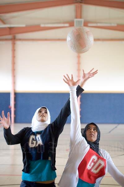 Muslim netball league, 2010.