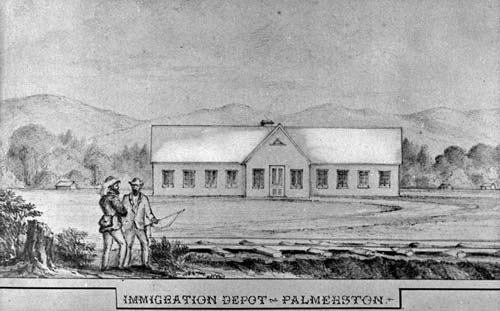 Immigration barracks: Palmerston North