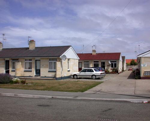 Ōamaru's first council housing