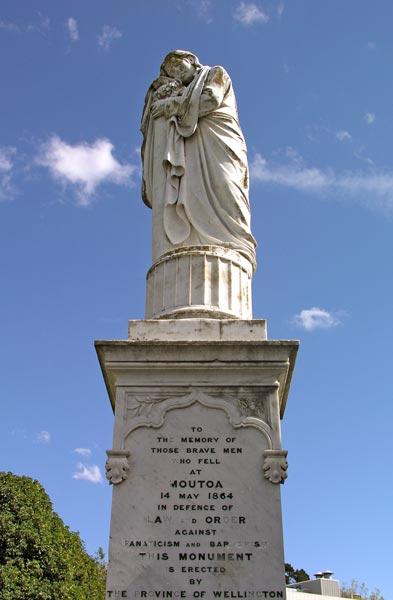 Moutoa memorial.