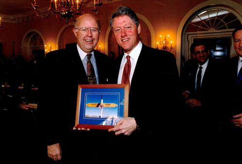 Bill Clinton in New Zealand