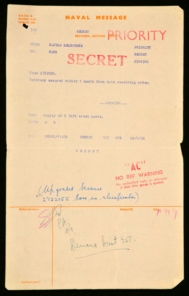A secret document