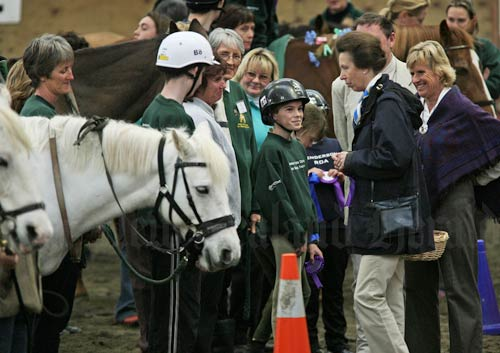 Royal visits: Riding for the Disabled, 2006