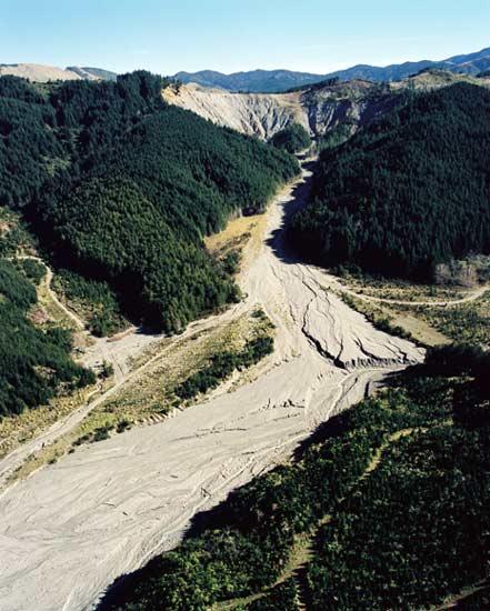 Erosion: Tarndale slip