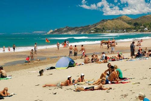 The sunny coast