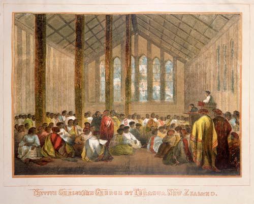 Māori churches: church at Tūranga