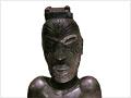 Carving: Iwirākau style