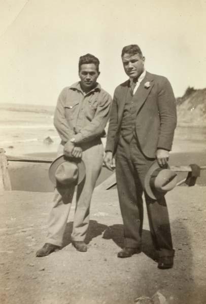 Sportsmen: George Nēpia and Tom Heeney