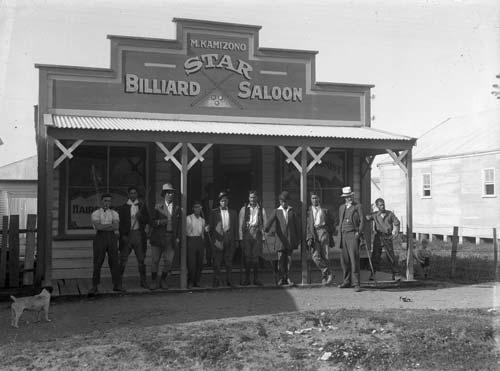 Kamizono's Star Billiard Saloon, Te Araroa