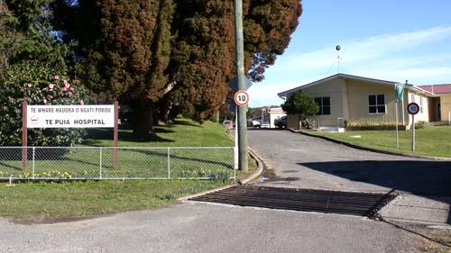Te Puia Springs hospital