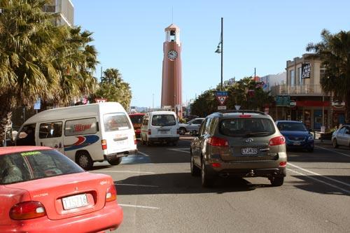 Gisborne's main street