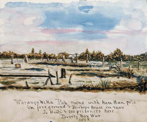 'Warangahika Pah ruins'