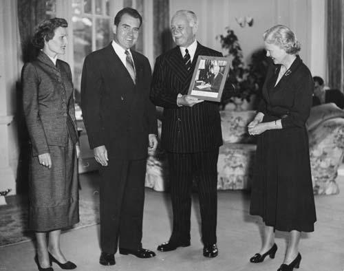 Richard Nixon at Government House