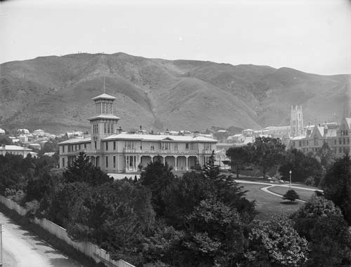 Government House, Wellington, 1880s