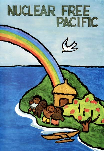 Nuclear-free Pacific, 1980s