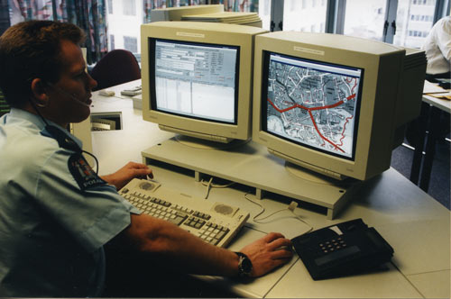 Policing technology: new police computer system, 1996