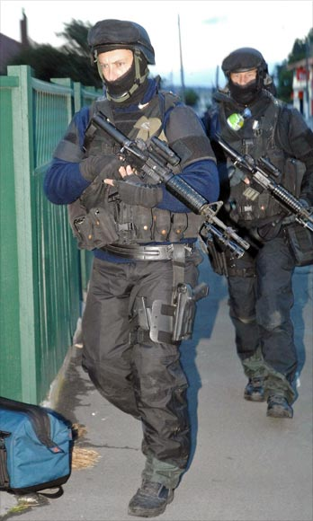 Armed Offenders Squad, Napier, 2009