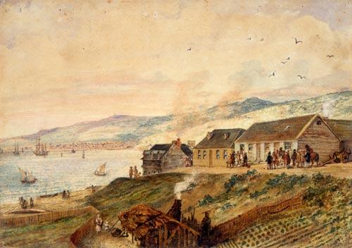 Courthouse, Wellington, 1843