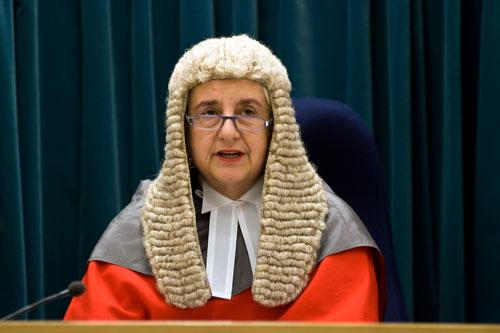Chief Justice Sian Elias
