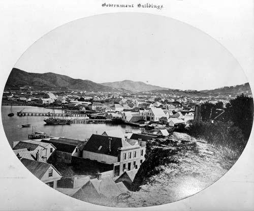Wellington, New Zealand's third capital, 1866