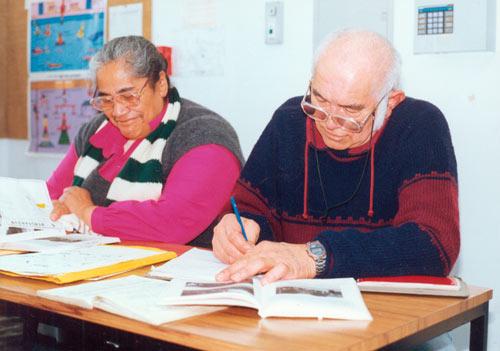 Mature students, Wairarapa Community Polytechnic, 1990s