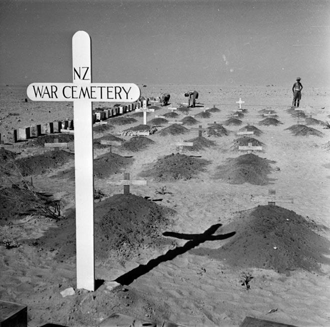 New Zealand war cemetery near El Alamein