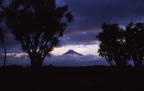 Mt Taranaki is very important to the identity of a...