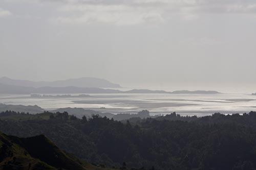 Kāwhia: harbour from Te Rauamoa, 2011