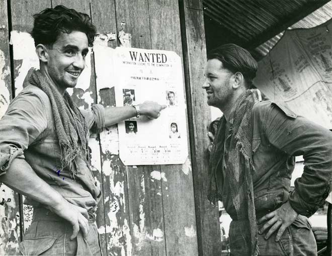 SAS troopers in Malaya, 1957