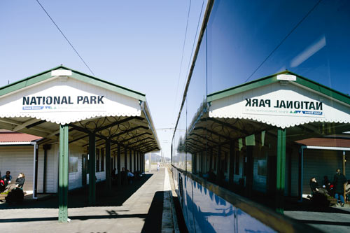 National Park railway station, 2006