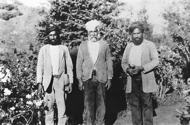Indian immigrants, 1920s