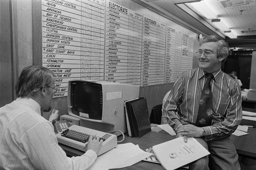 Electoral Roll Control Centre, 1981