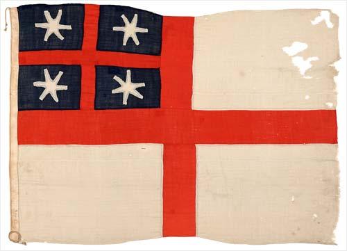 United Tribes' flag: New Zealand Company flag, 1839