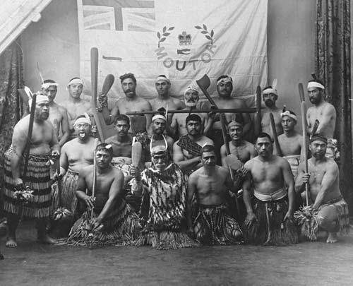 Whanganui Māori and the Moutoa flag