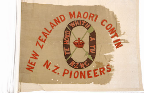 Pioneer Battalion flags: Tāhiwi flag