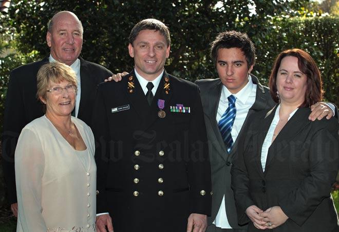 New Zealand Bravery Medal recipient Mark Taylor, 2011