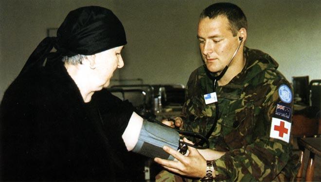 Peacekeeping in former Yugoslavia: medical clinic
