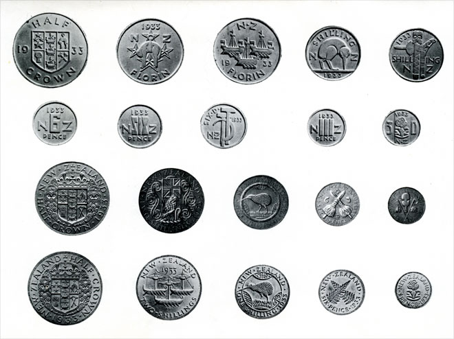 Rejected coin designs
