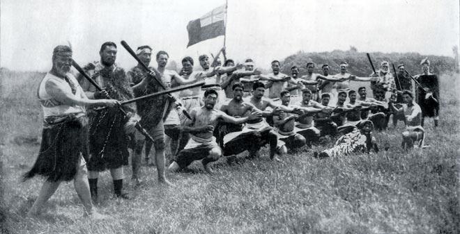'Kikia te Poa', a patriotic haka, 1901
